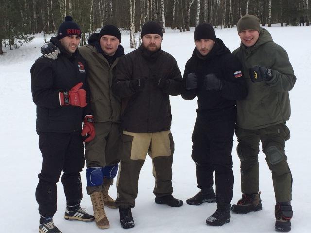 Самооборона зимой. Прикладной рукопашный бой S.P.A.S. (street fighting S.P.A.S.)