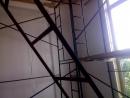 Подготовка к установке натяжного потолка на высоте 4 5 метра