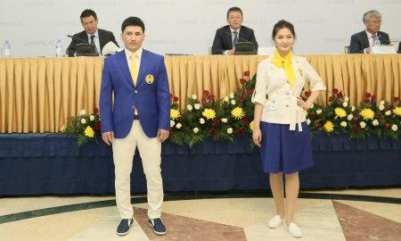 Представлен окончательный вариант парадной формы казахстанцев в Рио