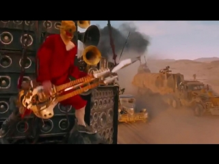Mad Max Fury Road Guitar Guy (Full Scenes) Good Quality