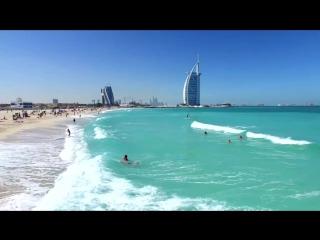 Пляжи Дубая - в числе самых лучших в мире. #ПосетитеДубай