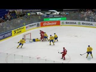 ЧМ-2015.1/4 финала. Швеция – Россия – 3:5 (0:2, 1:1, 2:2)
