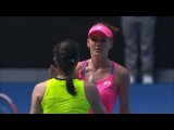 Agnieszka Radwanska vs Christina McHale ~ Highlights Australian Open 2016  HD.
