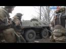 Донбасс Углегорск Бои с Правым сектором зачистка города бойцами Ополчения Февраль 2014