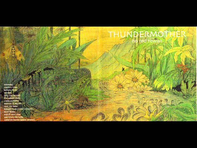 Thundermother - No Red Rowan 1971 (FULL ALBUM) [Hard Acid Psych Blues]