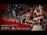 LeBron James vs Paul George NASTY Duel 2015.11.08 - 61 Pts, 17 Rebs, 10 Dimes Combined!