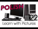 Learn Polish with Pictures - Using a Computer