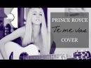 Te me vas Prince Royce Cover by Xandra Garsem English translation