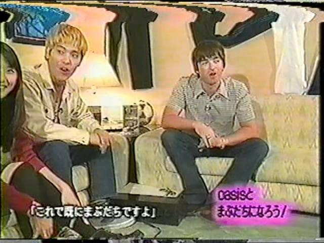 Oasis - Dont Go Away (まぶだち Mabudachi, Japanese TV Show 20th February 1998)