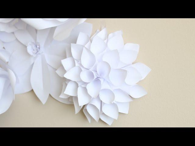 Paper Flower Backdrop: Flower 2