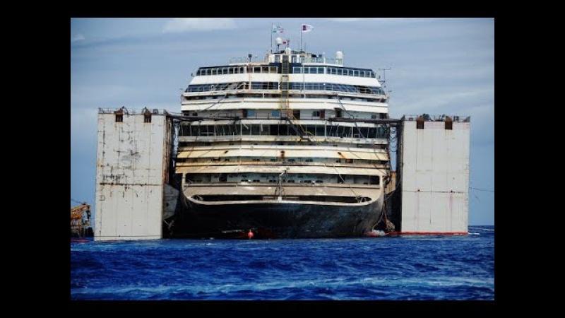 «Коста Конкордия» успешно доставлена на утилизацию (новости)