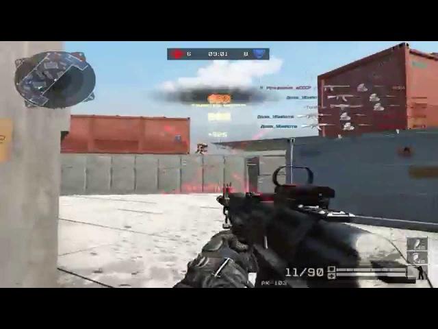 Warface: Проклик с ак 103 или, как играть с ак 103 без макросов/DM