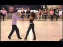 Phoenix Swing 2010 champion JJ winners Jordan Frisbee and Jessica Cox