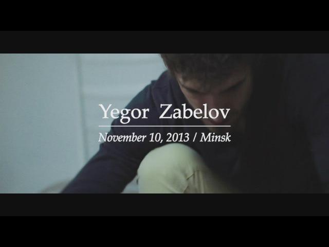 Yegor Zabelov at the film and music festival White Mirror Minsk Belarus