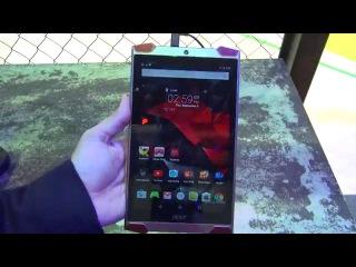 IFA 2015 Berlin: Acer Predator 8 - обзор нового игрового планшета на Intel Atom X7