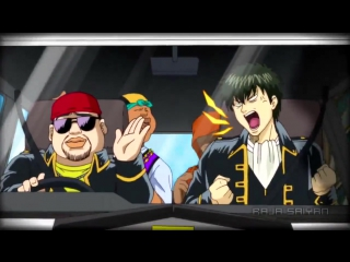 [HD AMV] Anime funny action DubStep Oppa Gangnam style remix [Gintama DBZ one piece Naruto. . . ] [720p]