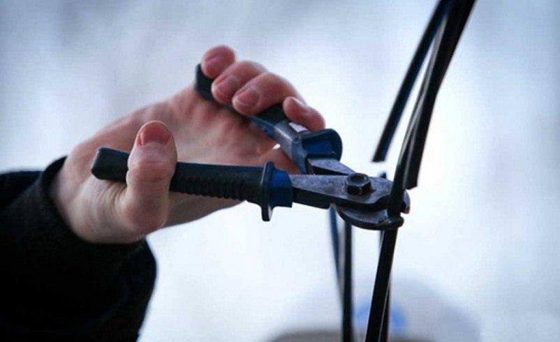 В хуторе Ново-Исправненском украли 240 метров телефонного кабеля