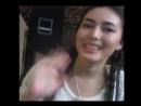 Актриса и певица сыгравшая в фильме Он и она Динара Бактыбаева передает горячий привет моему брату Ернату Пшану в Балхаш
