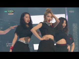 160212 4minute - Hate & Crazy @ Music Bank