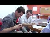 Студенты соединяют людей, процесс, данные и вещи помочь слепым