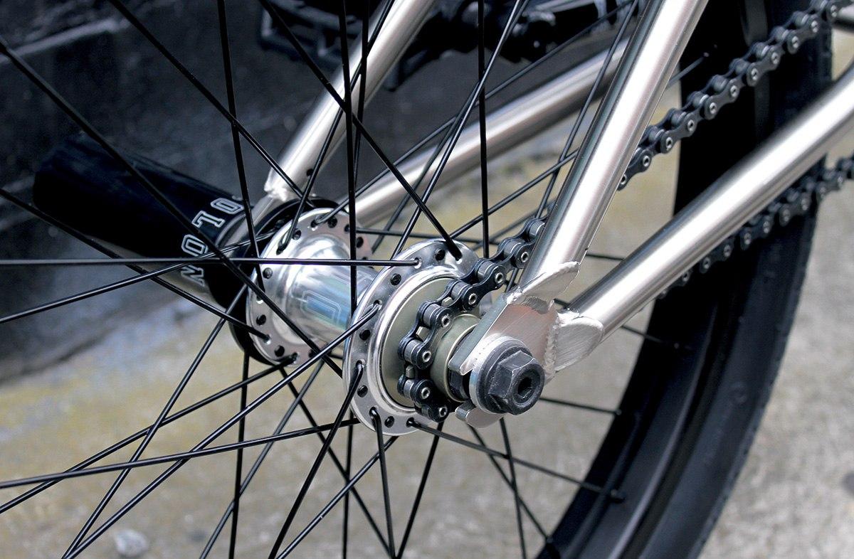 bmx rear hub