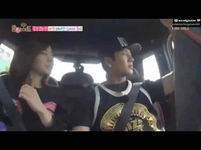 141019 Roommate GOT7 Jackson and Girls Generation Sunny Into The New World