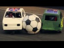 England Vs Australia Reliant Robin Football Top Gear Festival Sydney