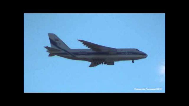 Antonov An-124 RA-82043 Volga Dnepr Airlines 2016.02.17 Moscow SVO → VKO VI9143