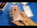 iPhone 6s: Распаковка и краткий обзор. Смотрим, щупаем, обсуждаем.