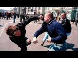 Как бить в уличной драке  Убойная двойка от крапового берета