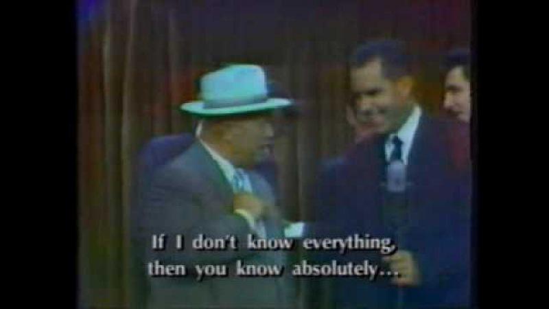 Nixon vs. Khrushchev - The Kitchen Debate (1959)