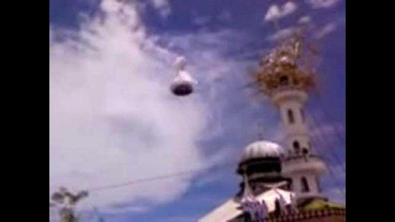 Купол Мечети сам установился на место, во время Зикра !