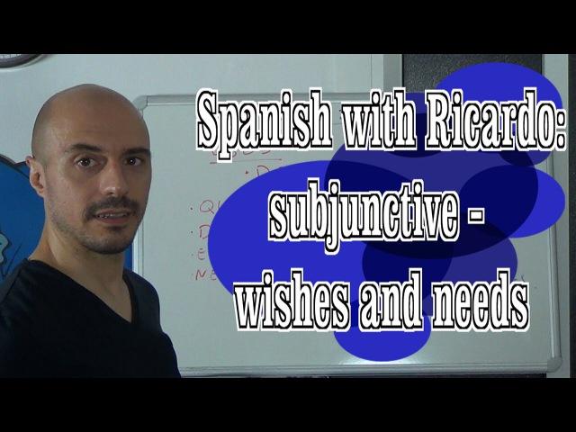 Level B2 - Subjunctive (4) Quiero, deseo... subjunctive