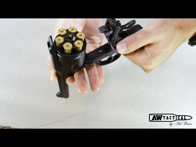 Обзор страйкбольного револьвера WinGun Webley Mk VI CO2