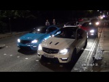 4 Crazy Mercedes C63 AMG's Terrorise The Streets of London!!