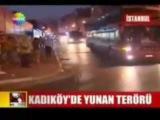 PAOK fans hunting Turks & invade fenerbahce stadium