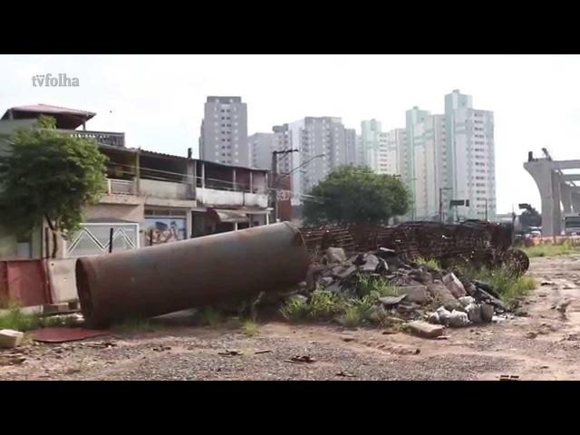 Obras atrasadas causam efeito Minhocão em monotrilho da Zona Leste