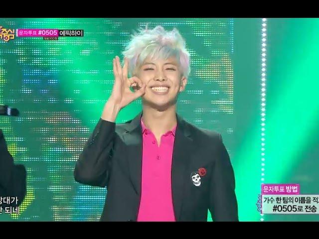 TVPP BTS War of Hormone 방탄소년단 호르몬 전쟁 @ Show Music Core Live