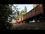2ТЭ116 1347 с грузовым поездом со ст.Бердянск