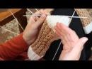 Вязание кружевных носков 2