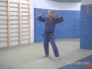 Уроки дзюдо. Тренировка с резиновым эспандером