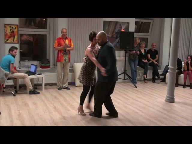 Алексей и Юлия Саминские: танго-канженге