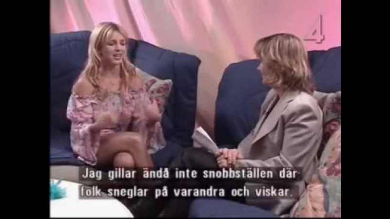Britney Spears - TV4 Malou Moter Interview Special 2001