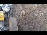 Обработка земли мотоблоком МТЗ