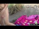 Пришла на пляж с анальной пробкой а потом затрахала самотыком анус и киску и пописала на песочек (HD 720, На публике, шлюхи, Ana