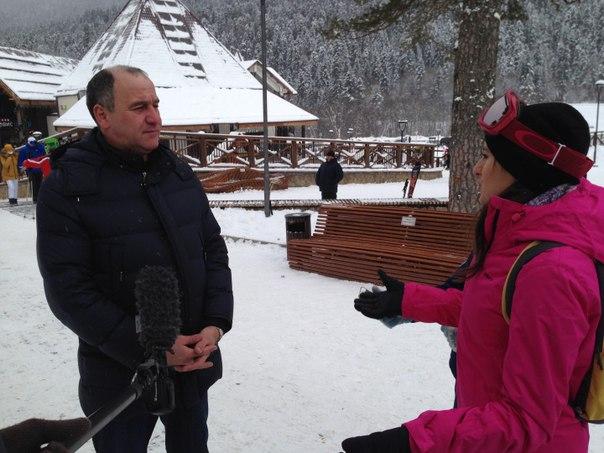 Глава Карачаево-Черкесии побывал на Дне рождения курорта «Архыз»