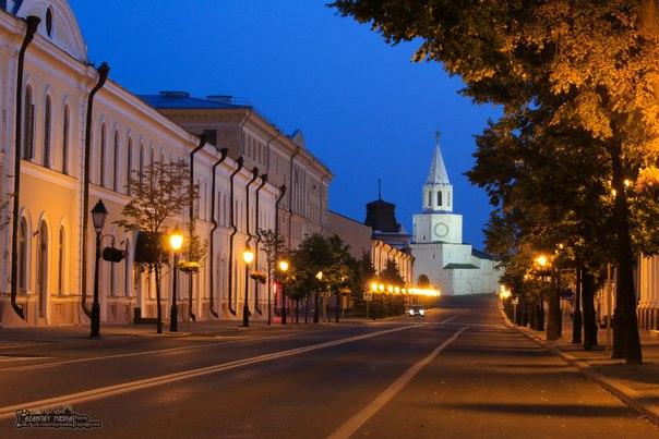 Доброе утро, волшебная Казань! Пробуждайся, красивый город! #доброеутротатарстан