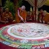 Построения Мандалы, Тибетские монахи в РнД