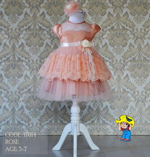 Как сшить пышное платье на годовалую девочку 82