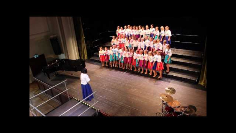 Jelgavas 4.vidusskolas bērnu koris - Pasaules koru olimpiāde